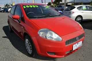 2008 Fiat Punto Dynamic Red 5 Speed Automatic Hatchback.
