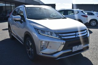 2017 Mitsubishi Eclipse Cross YA MY18 LS 2WD Billet Silver 8 Speed Constant Variable Wagon.