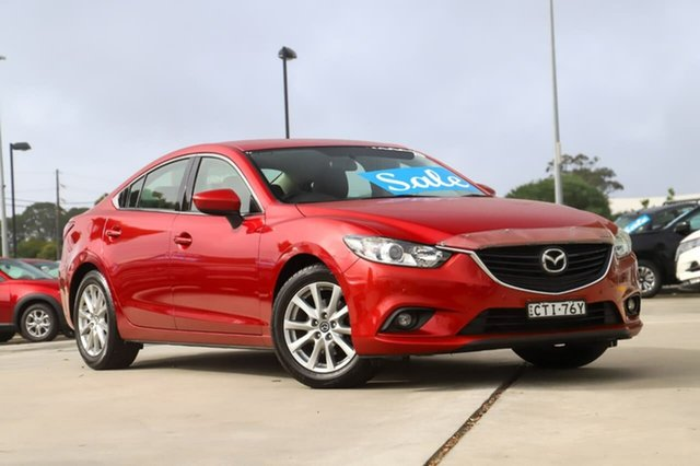 Used Mazda 6 GJ1031 Touring SKYACTIV-Drive Kirrawee, 2014 Mazda 6 GJ1031 Touring SKYACTIV-Drive Red 6 Speed Sports Automatic Sedan