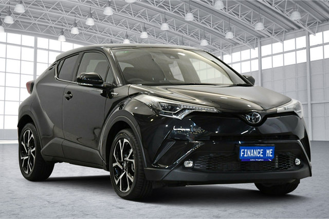 Used Toyota C-HR NGX50R Koba S-CVT AWD Victoria Park, 2019 Toyota C-HR NGX50R Koba S-CVT AWD Black 7 Speed Constant Variable Wagon