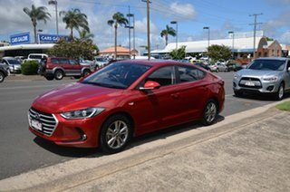 2016 Hyundai Elantra MD Series 2 (MD3) Active Special Edition Red 6 Speed Automatic Sedan.