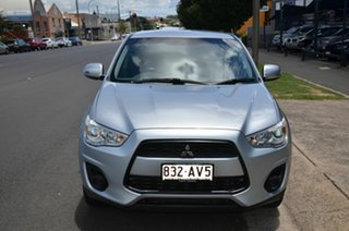 2013 Mitsubishi ASX XB MY13 (2WD) Silver 5 Speed Manual Wagon.