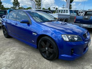 2009 Holden Commodore VE MY09.5 SS V Blue 6 Speed Sports Automatic Sedan.