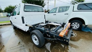 2008 Toyota Hilux GGN15R MY09 SR Xtra Cab 4x2 White 5 Speed Automatic Utility