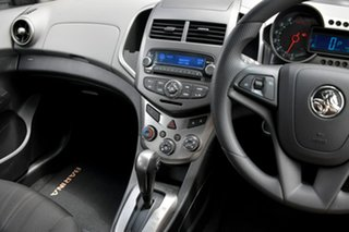 2014 Holden Barina TM MY14 CD Silver 6 Speed Automatic Hatchback