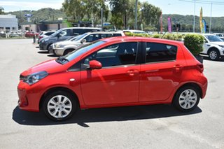 2016 Toyota Yaris NCP131R SX Red 4 Speed Automatic Hatchback