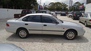 2002 Toyota Avalon MCX10R Mark II VXi Silver 4 Speed Automatic Sedan.