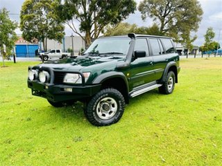 2001 Nissan Patrol GU II ST (4x4) Green 5 Speed Manual 4x4 Wagon.