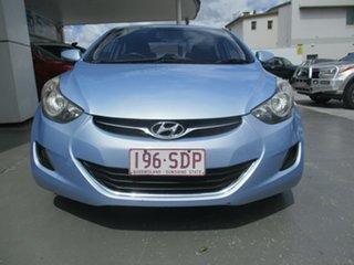2011 Hyundai Elantra MD Active Blue 6 Speed Automatic Sedan
