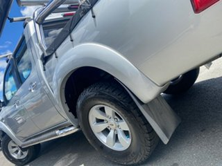 2008 Ford Ranger PJ XLT Crew Cab Silver 5 Speed Automatic Utility