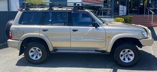 2003 Nissan Patrol GU III MY2003 ST-L Champagne 4 Speed Automatic Wagon.