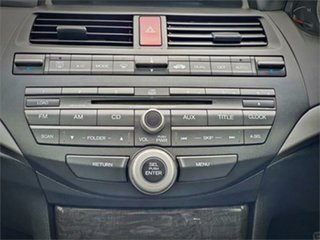 2009 Honda Accord 8th Gen VTi-L Grey 5 Speed Sports Automatic Sedan