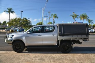 2016 Toyota Hilux GUN126R SR (4x4) Silver 6 Speed Automatic Dual Cab Chassis.