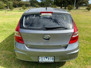 2011 Hyundai i30 FD MY11 SX Silver 6 Speed Manual Hatchback