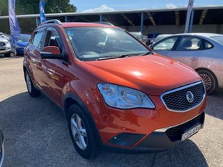 2011 Ssangyong Korando C200 SX AWD Burnt Orange 6 Speed Manual Wagon
