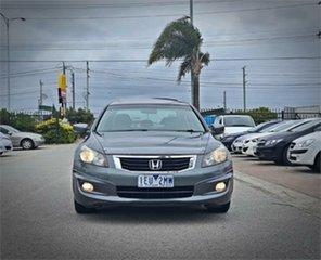 2009 Honda Accord 8th Gen VTi-L Grey 5 Speed Sports Automatic Sedan.