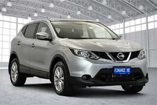 2017 Nissan Qashqai J11 TS Silver 1 Speed Constant Variable Wagon.
