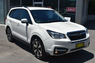 2017 Subaru Forester S4 MY17 2.0D-L CVT AWD Pearl White 7 Speed Constant Variable Wagon.