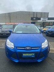 2013 Ford Focus LW MK2 Trend Acoustic Blue 6 Speed Automatic Hatchback.