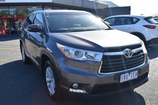 2014 Toyota Kluger GSU55R GX AWD Grey 6 Speed Sports Automatic Wagon.