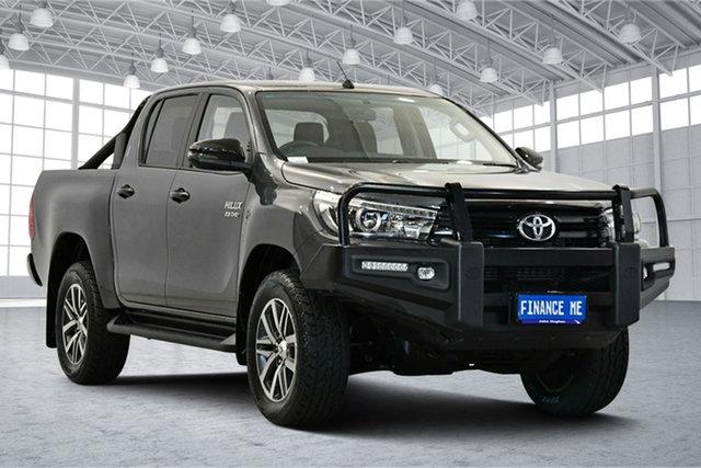 Used Toyota Hilux GUN126R SR5 Double Cab Victoria Park, 2017 Toyota Hilux GUN126R SR5 Double Cab 1GD4349512 6 Speed Manual Utility