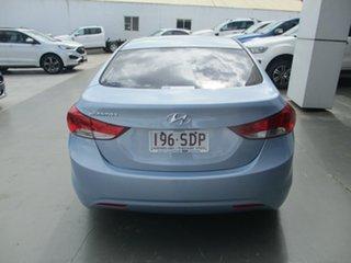 2011 Hyundai Elantra MD Active Blue 6 Speed Automatic Sedan.