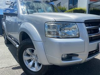 2008 Ford Ranger PJ XLT Crew Cab Silver 5 Speed Automatic Utility.