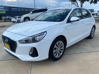 2019 Hyundai i30 Go White Sports Automatic Hatchback.