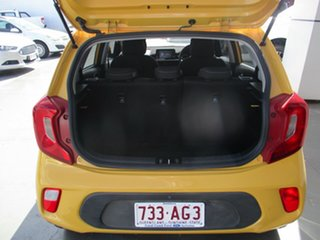 2017 Kia Picanto JA MY18 S (AEB) Yellow 4 Speed Automatic Hatchback