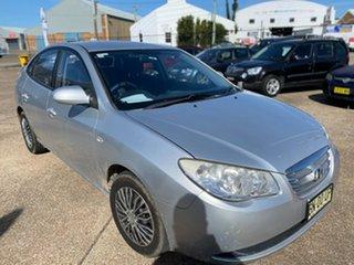 2009 Hyundai Elantra HD MY10 SX Silver 4 Speed Automatic Sedan.