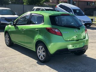 2012 Mazda 2 DE10Y2 MY13 Neo Green 4 Speed Automatic Hatchback.