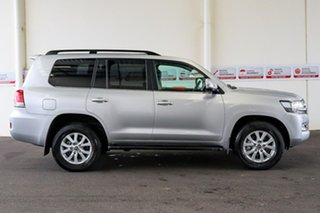 2020 Toyota Landcruiser VDJ200R VX Silver Pearl 6 Speed Sports Automatic Wagon