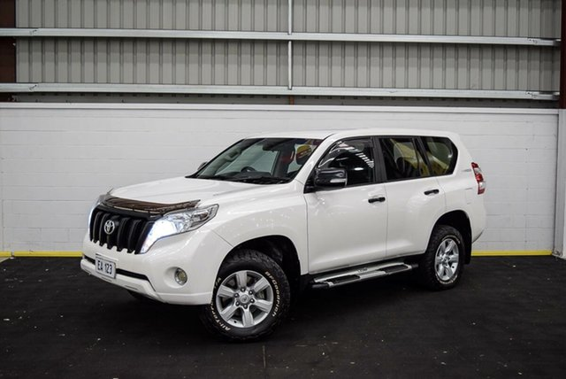 Used Toyota Landcruiser Prado GDJ150R GX Canning Vale, 2016 Toyota Landcruiser Prado GDJ150R GX White 6 Speed Sports Automatic Wagon