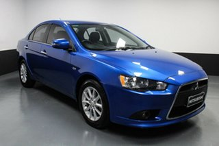 2015 Mitsubishi Lancer CJ MY15 LS Blue 6 Speed Constant Variable Sedan.