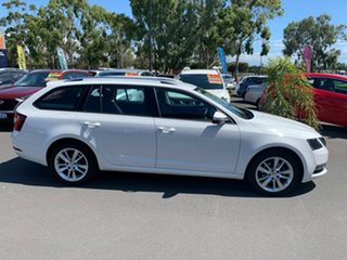 2018 Skoda Octavia NE MY18.5 110TSI DSG White 7 Speed Sports Automatic Dual Clutch Wagon.