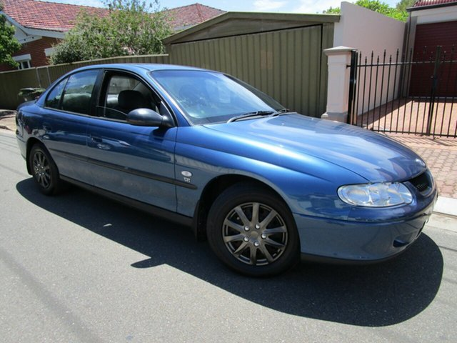 Used Holden Commodore VX II Executive Glenelg, 2001 Holden Commodore VX II Executive Blue 4 Speed Automatic Sedan