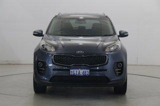 2017 Kia Sportage QL MY17 SLi 2WD Mercury Blue 6 Speed Sports Automatic Wagon.