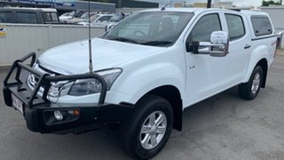 2016 Isuzu D-MAX MY15 LS-M Crew Cab White 5 Speed Sports Automatic Utility.