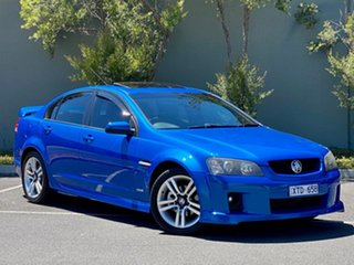 2010 Holden Commodore VE MY10 SV6 Blue 6 Speed Manual Sedan.