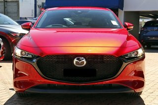 2020 Mazda 3 BP G25 Evolve Vision Soul Red Crystal 6 Speed Automatic Hatchback