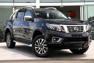 2020 Nissan Navara D23 S4 MY20 ST-X Cosmic Black 6 Speed Manual Utility.