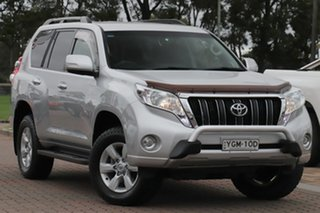 2016 Toyota Landcruiser Prado GDJ150R GXL Silver 6 Speed Sports Automatic SUV.