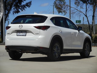 2017 Mazda CX-5 KF2W7A Maxx SKYACTIV-Drive FWD Sport White 6 Speed Sports Automatic Wagon