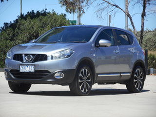 2012 Nissan Dualis J10W Series 3 MY12 Ti-L Hatch X-tronic 2WD Grey 6 Speed Constant Variable