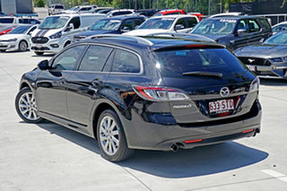 2012 Mazda 6 GH1052 MY12 Touring Black 5 Speed Sports Automatic Wagon.