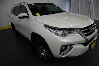 2017 Toyota Fortuner GUN156R GXL White 6 Speed Automatic Wagon