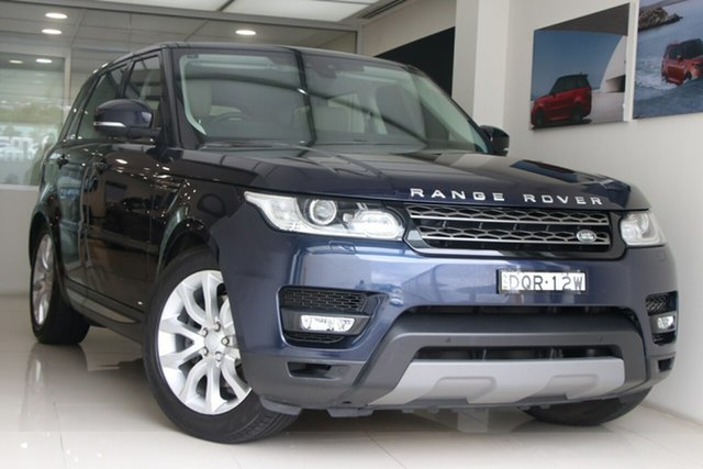 Used Land Rover Range Rover Sport L494 17MY SE Brookvale, 2017 Land Rover Range Rover Sport L494 17MY SE Blue 8 Speed Sports Automatic Wagon