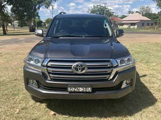 2018 Toyota Landcruiser VDJ200R GXL Graphite 6 Speed Sports Automatic Wagon.