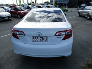 2012 Toyota Camry ALTISE White 4 Speed Automatic Sedan