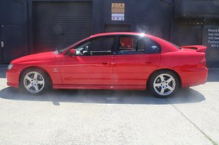 2005 Holden Commodore VZ SV6 Red 5 Speed Auto Active Select Sedan